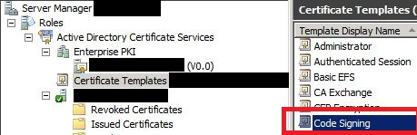 Generate code signing certificates using an enterprise certificate in yelopaper Gallery