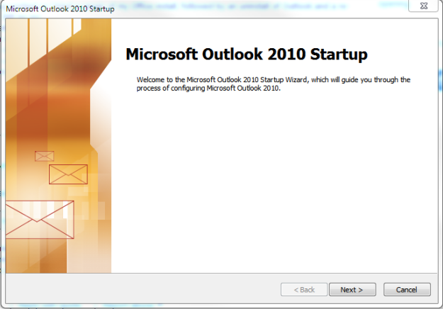 Microsoft Outlook: Cannot start Microsoft Outlook | Richard