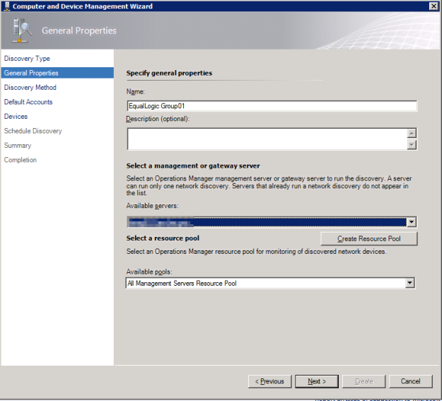 EqualLogic SCOM 5