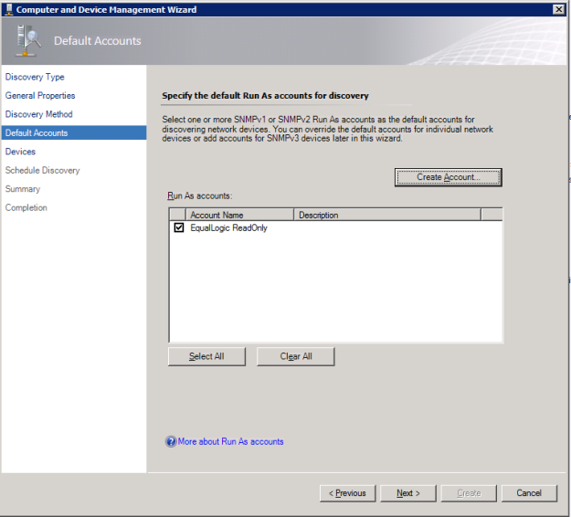 EqualLogic SCOM 8