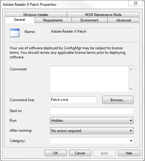Adobe Reader Patching Using System Center Configuration Manager 2007