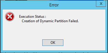 "Dell Firmware Update Fails With ""Creation of Dynamic"