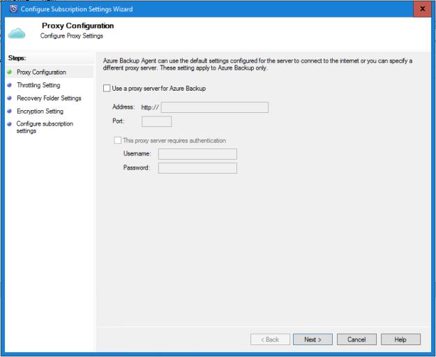 Disabling WPAD on Windows Server 2012 R2 for SCDPM, Azure